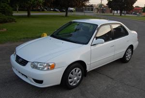 2002 Toyota Corolla BHPH Fair Market Value