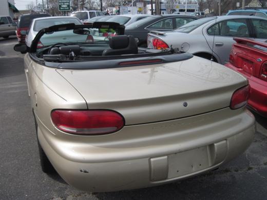 1999 Chrysler Sebring BHPH Fair Market Value